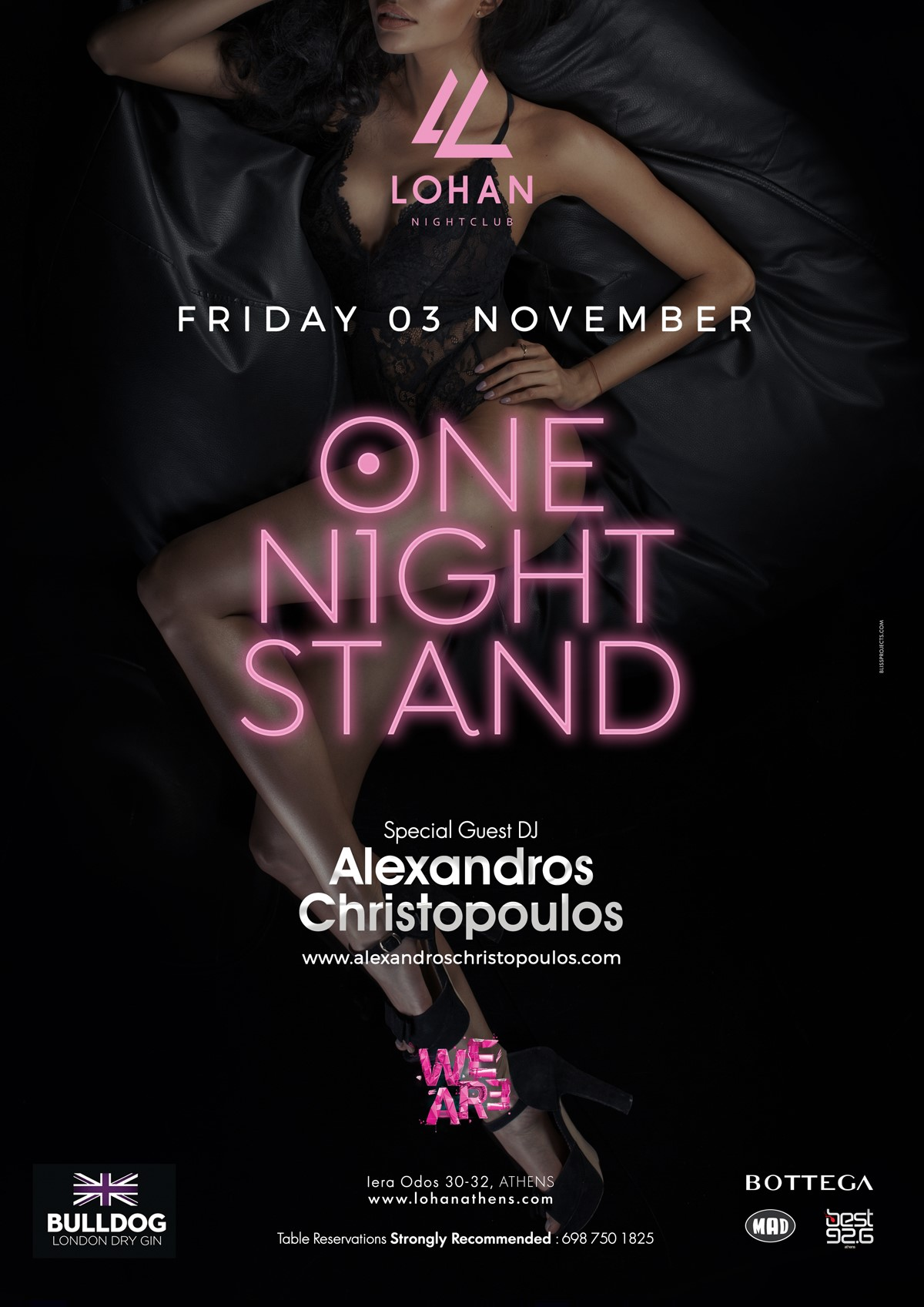 ONE NIGHT STAND |LOHAN