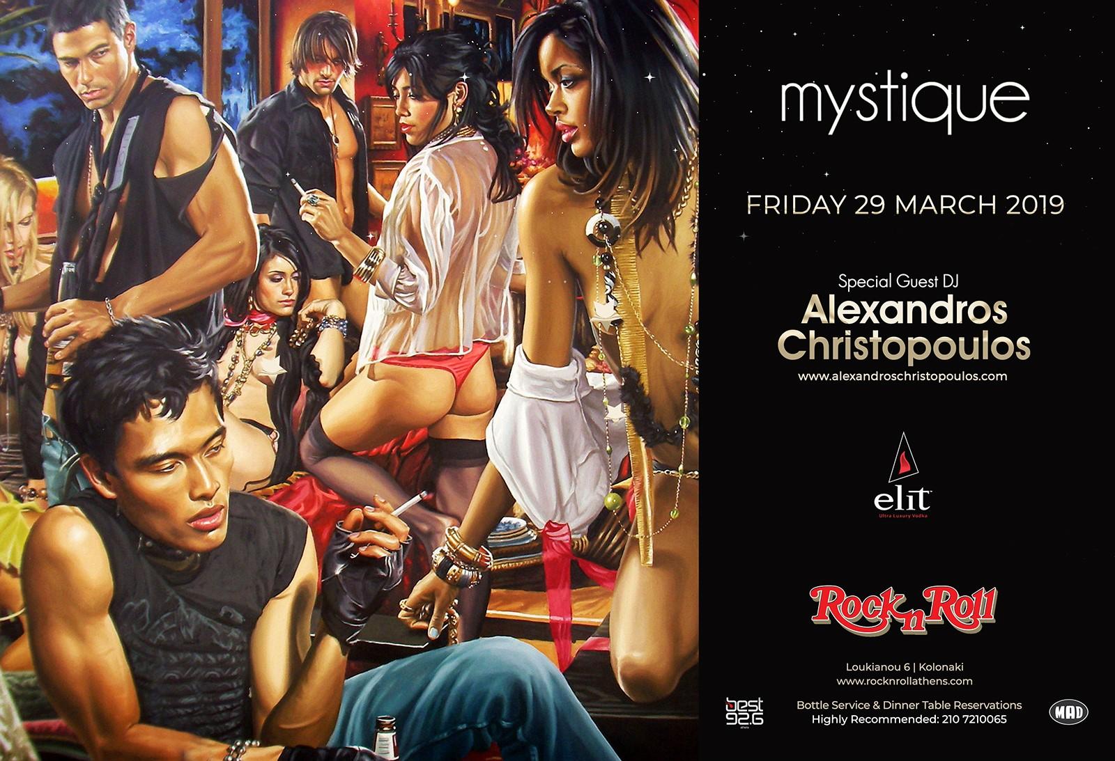 Mystique   ROCK N ROLL Athens