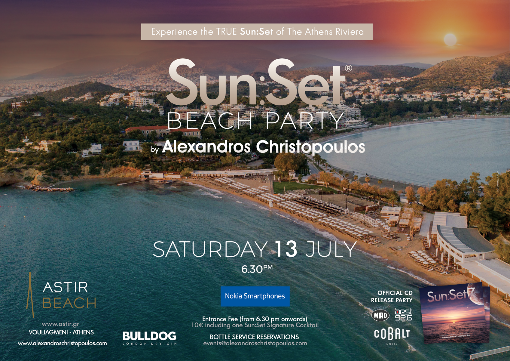 Sun:Set ® Beach Party | ASTIR BEACH (Athens)