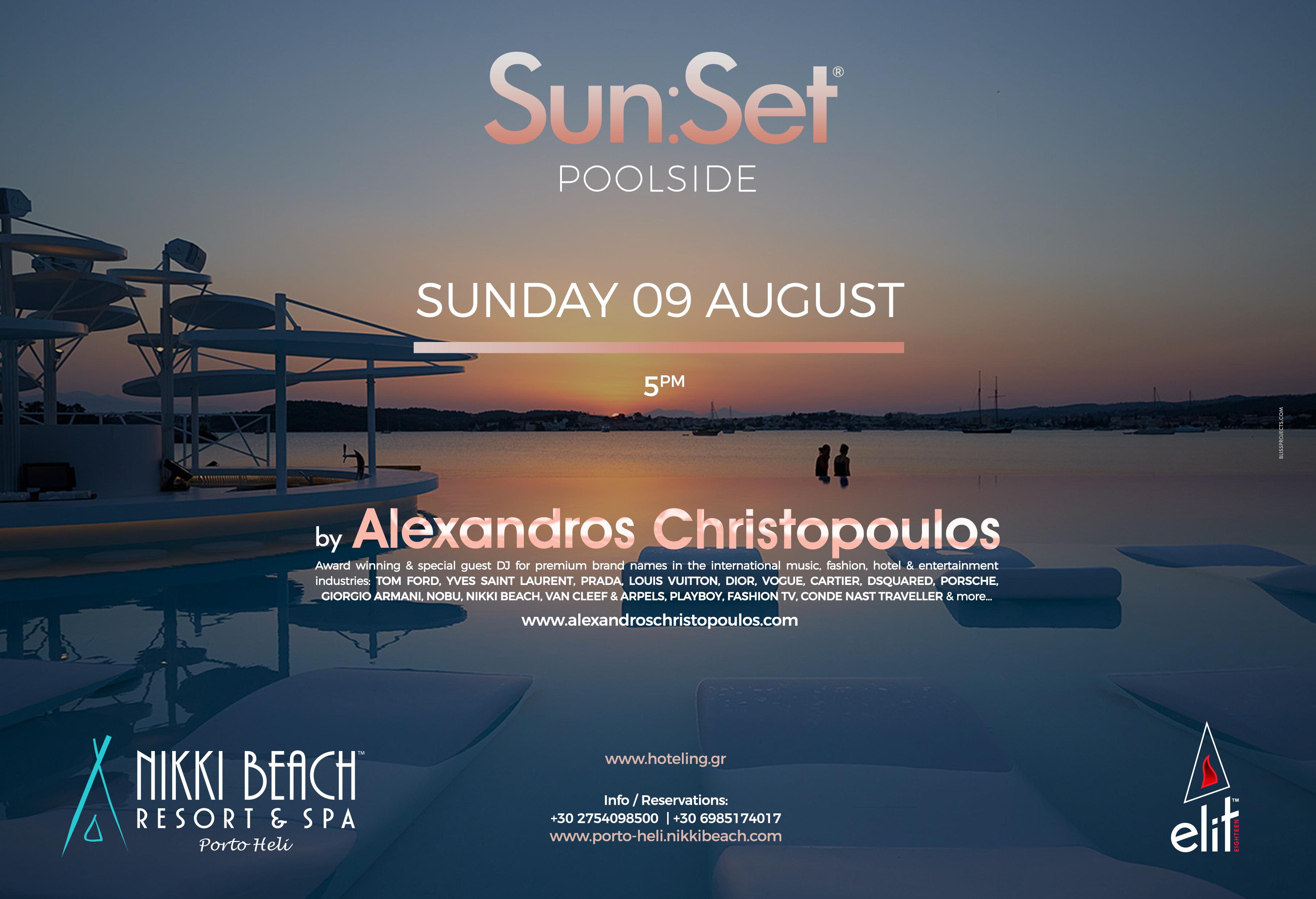 Sun:Set ® Poolside | NIKKI BEACH